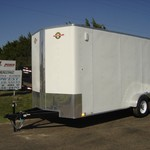 **SPECIAL PRICING ON 7 X 18  ENCLOSED CARRY-ON TRAILER**