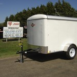 2015 5 X 8 ENCLOSED CARRY ON TRAILER
