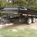 NEW 96 X 14 PJ DECKOVER DUMP - *CLEARANCE PRICE*