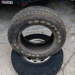 Goodyear Eagle ST Tire almost new