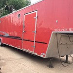 Enclosed trailer/toy hauler