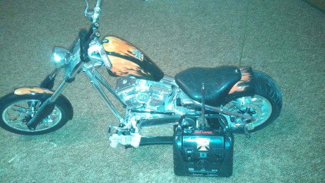 Brand New West Coast Choppers RC motorcycle