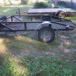 "10'x63"" trailer $550.00 in Council grove,Ks."