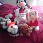 7 stuffed animals $1.00 each