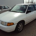 1996 Ford Escort LX 2-Door White 127K