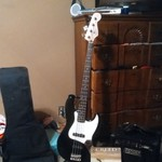 Fender squire Bass guitar