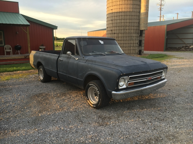 1968 Chevy c10 with ls swap 5.3 vortec