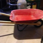 Radio Flyer wheel barrow