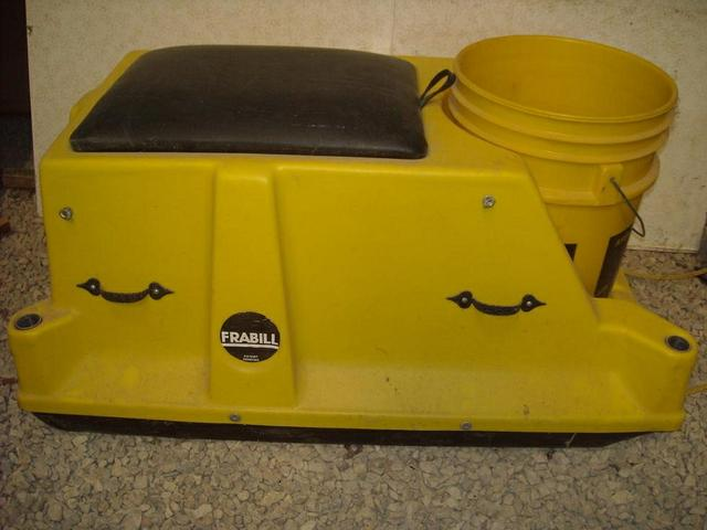 Frabill Ice Fishing Sled Nex Tech Classifieds