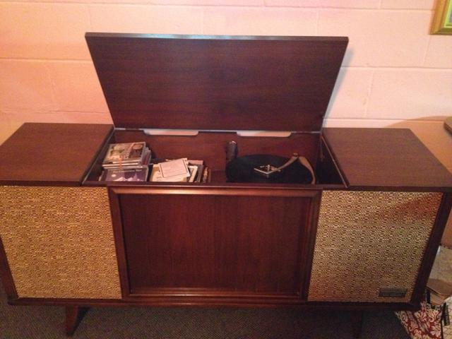 Stereo Cabinet Record Player With Records Nex Tech