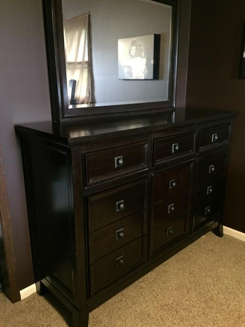 Price reduced ashley furniture martini suite bedroom set ptci classifieds for Ashley furniture bedroom suites