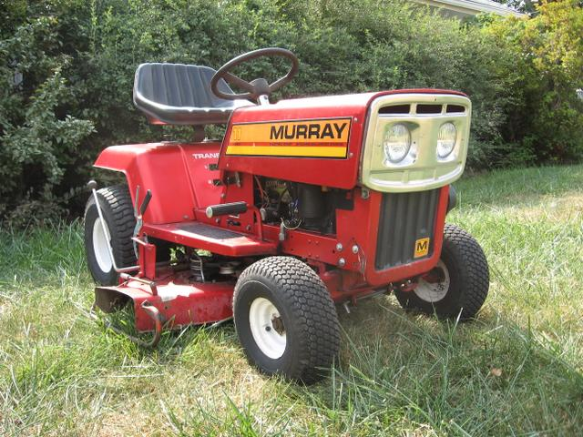 Murray Garden Tractor : Murray lawn tractor riding mower made in near