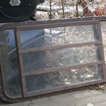 Used van window