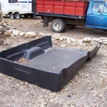 Ford full size pickup bed liner