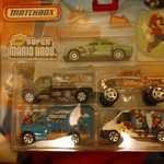 New Super Mario Bros Matchbox cars