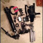 Sony z5u Video Camera & Supplies Hunting Package
