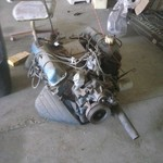Ford 390 engine and 4 speed transmission
