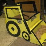 $ Reduced-Backhoe/Front loader Halloween Costume