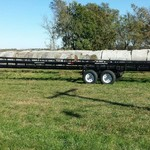 EZ HAUL SELF DUMPING BALE TRAILER