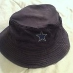 Children's ku and Dallas cowboys bucket hats