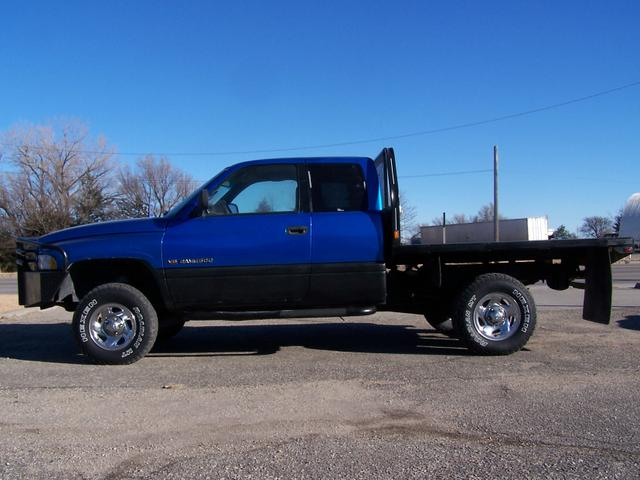 Dodge+Flatbed 1998 Dodge Ram 1500-4x4, Flatbed, 360, Auto, REDUCED ...
