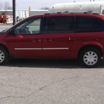 2007 TOWN AND COUNTRY TOURING, 116 K, DVD