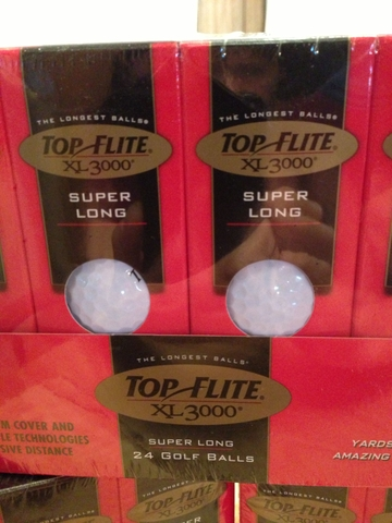 Top Flite XL 3000 Super Long golf balls
