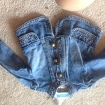 12-18 mo Old Navy girl's denim jacket
