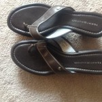 Size 9 Tommy Hilfiger brown sandals/heels