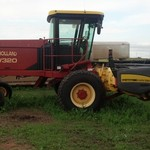 2004 New Holland HW320 Swather