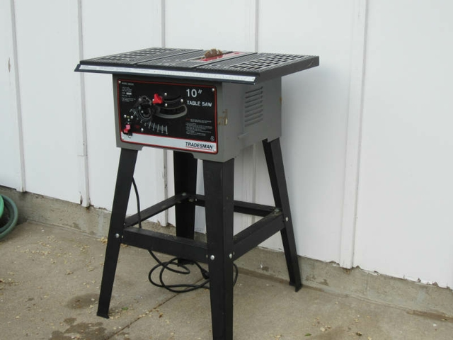 Tradesman 10 Table Saw Nex Tech Classifieds