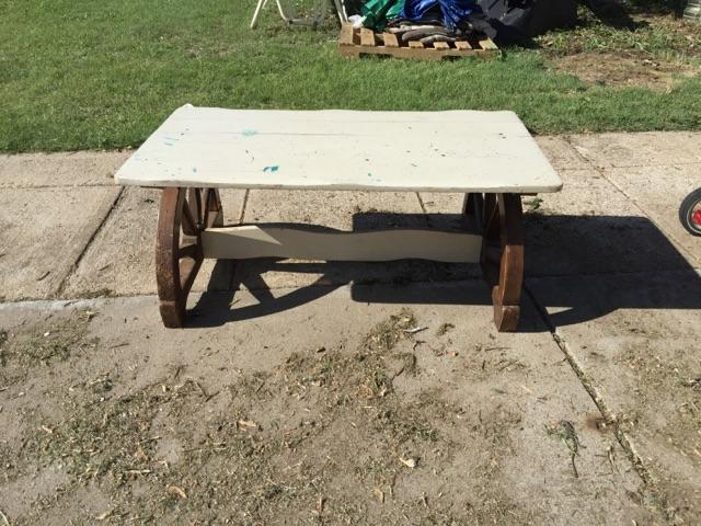 Wagon Wheel Coffee Table Nex Tech Classifieds