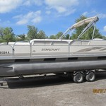 2003 StarCraft 24ft Pontoon Boat