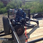 Gorman rupp irrigation pump