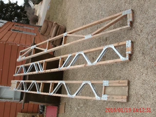 3 roof or floor truss supports nex tech classifieds for Premade roof trusses