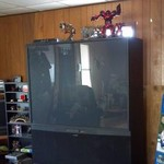 55' Inch Mitsubishi Projection TV For Sale!