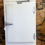 Antique Frigidaire fridge