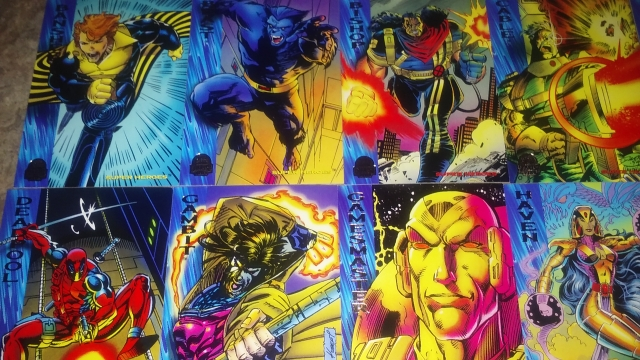 1994 Marvel Universe trading cards