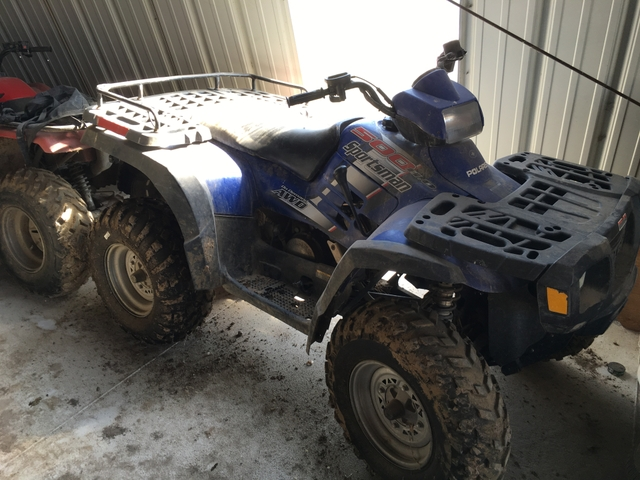 Polaris 500 Sportsman 4 wheeler