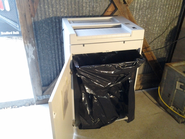 used industrial paper shredders for sale
