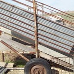 PORTABLE LOADING CHUTE (PRICE LOWERED)