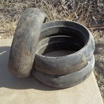 PLANTER-PRESS WHEEL TIRES