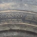 8.25 x 20 TRUCK TIRES (REDUCED)