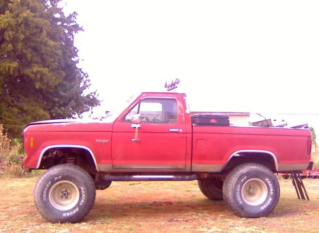 1984 ford ranger 4x4 ptci classifieds. Black Bedroom Furniture Sets. Home Design Ideas