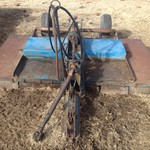 Ford 9' pull type rotary mower