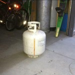 20 pound propane bottle FULL