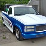 1994 gmc short wide pick up