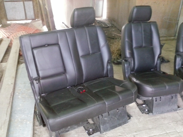 Suburban 2nd Row Bench Seat 2nd Row Leather Bench Seats