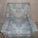 Accent Chair/Cheveron