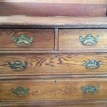 Heavy Oak Dresser